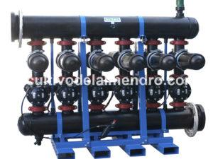 Filtración para sistemas de riego del almendro